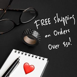 Free Shipping on Orders $50 or Over!